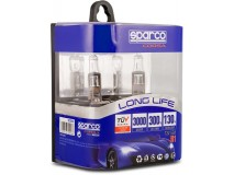 Set of 2 Bulbs H1 Long Life 130% Sparco Corsa