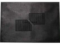 TAPETE DE BORRACHA COM ESPINHADO 1 PC 35x50 cm