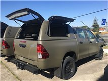 Hard-Top Work Toyota Hilux Revo DC 2016+ W/ Side Doors Linextras (Primary)