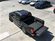 Bedliner Nissan NP300 D23 DC Under Rail and  W/ Channel