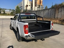 Bedliner Nissan NP300 D23 DC Over Rail and  W/ Channel