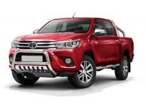 Big Bar U Toyota Hilux Revo 16-19 Stainless Steel 70MM W/ EC