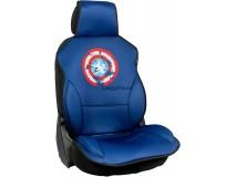 Captain America Cover Seat Blue