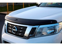 Bonnet Guard Nissan Navara NP300 D23 2016+ Dark Smoke W/O Logo