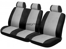 Car Seat Covers Camionnette Grey / Black