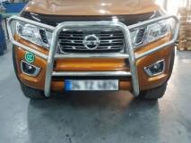Complete Bull Bar Nissan Navara NP300 D23 2016+ Stainless Steel 60MM