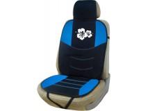 Backrest Hibiscus Black / Blue