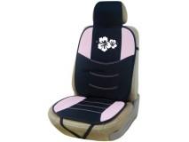 Backrest Hibiscus Black / Pink