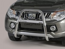 Bull Bar Mitsubishi L200 15-19 Stainless Steel W/O Mark