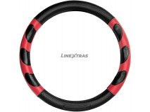 Steering Wheel Cover BC Corona Red / Black