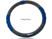 Steering Wheel Cover Sparco Corsa Blue