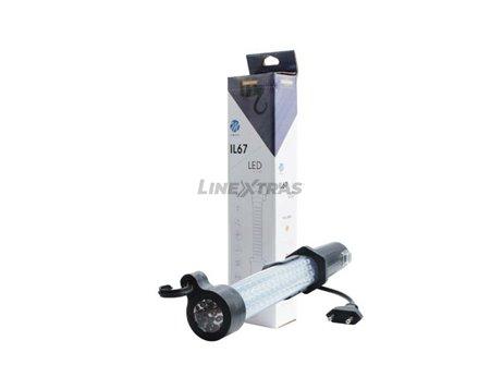 [06.IL67]  LANTERN 50 SMD LED - 17 SMD LED, MAGNETIC (220v)