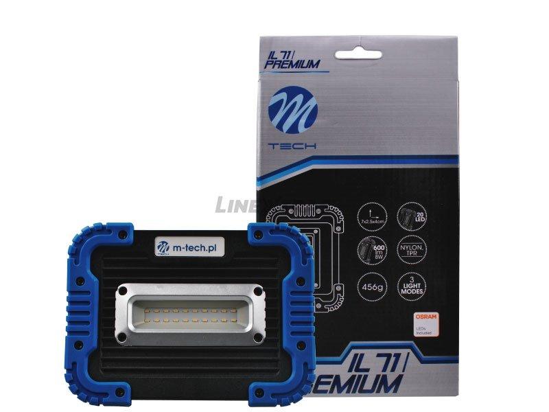[06.IL71] PREMIUM FLASHLIGHT 20 LED OSRAM SMD (battery)