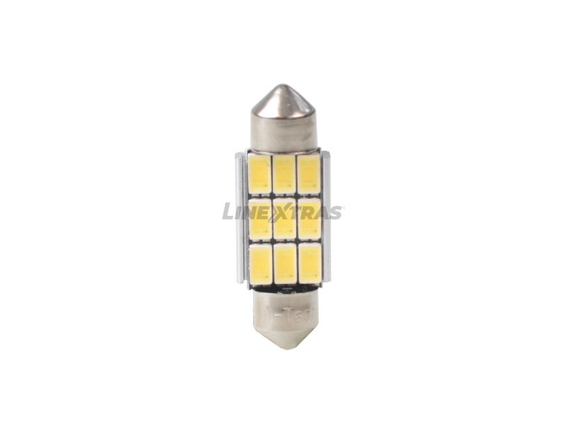 LAMPS C5W SV8.5 36mm 9xOSRAM SMD5630 CANBUS 12v