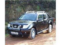 Grill U with caption Black Navara D40 Ate 2010