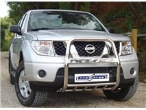 Grill U with caption with Navara D40 Ate 2010 Stainless Protection