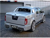 Sensorless Bumper Parking Navara D40 Rear