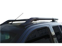 Nissan D-40 Black Roof Rails (Non Ceiling Open)