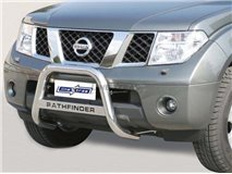 BIG BAR U W/LEG INOX NISSAN PATHFINDER