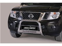 Big Bar U with legend Stainless Steel 63Mm Nissan Pathfinder 2011