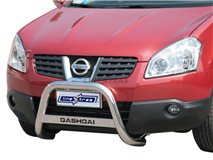 Big Bar U with subtitle Nissan Qashqai stainless steel
