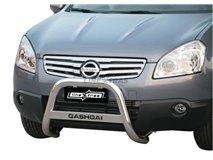Big Bar U con subtítulo Nissan Qashqai +2 acier inoxydable