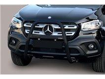 Bull-Bar U  Black Mercedes X Class