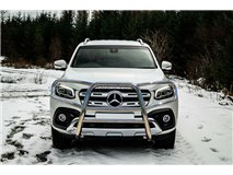 Bull-Bar Cpl Stainless Steel 63mm Mercedes X Class