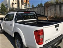 Roll-Bar W/Glass Protection Black 63mm