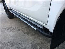 Side Steps Aluminium 4D. Mercedes X Class
