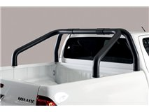 Double Roll-Bar W/O Light Black Mercedes X Class