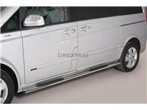 Side Steps Oval Stainless Steel Mercedes Viano 2015