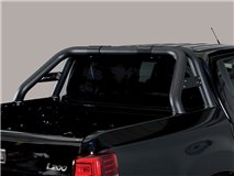 Double Roll-Bar with Leg Black L200 2015 Double Cab