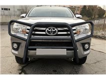 Bull-Bar Toyota Hilux Revo Stainless Steel Black Africa Model