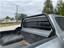 Roll-Bar Glass Protection Toyota Hilux Revo Black