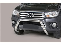 Big Bar U Stainless Steel 76mm Toyota Hilux Revo 2015