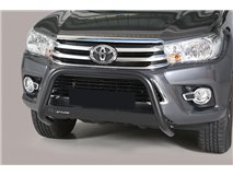Big Bar U Stainless Steel Black Toyota Hilux Revo 2015