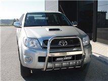 Grelha U C/Prot. Inox 63Mm Toyota Vigo