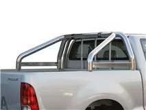 Roll-Bar Duplo S/Leg Inox Toyota Hilux / Vigo