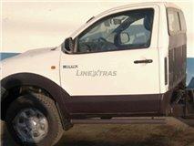 Estribos Tubulares Preto Toyota Vigo Single Cab