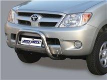 Big Bar U C / Leg Inox Toyota Hilux / Vigo
