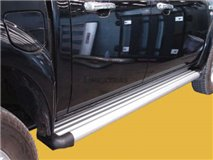 Estribos Aluminio 2P. Toyota Hilux / Vigo