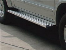 Aluminum Single Cab stirrups. Toyota Hilux / Vigo