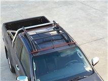 Tejad bars. Black Ford Ranger (No Roof Open)