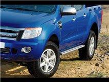 Aluminum stirrups 4P. 2012 Ford Ranger