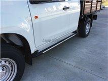 Aluminum stirrups 2P. Isuzu D-Max 2012