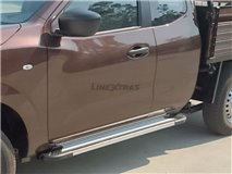 Estribos Aluminio Fiat Fullback Club Cab