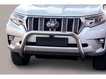 Big Bar U Toyota Land Cruiser 2018+ Stainless Steel 76MM W/O EC
