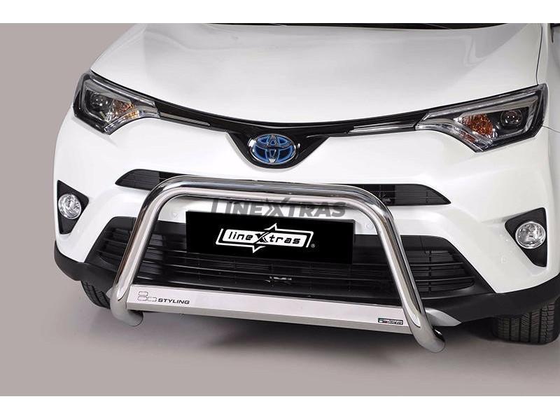 Big Bar U Toyota Rav 4 2016+ Stainless Steel W/ EC