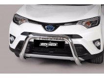 Big Bar U Toyota Rav 4 2016+ Stainless Steel 76MM W/O EC